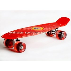 Скейтборд Cruiser Board,Red